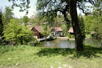 Water mill Rastoke